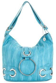 Big Buddha Handbags Halli Shoulder Bag - Turquoise