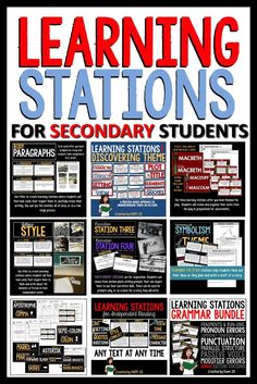 Learning stations fo