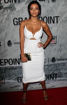 """Jessica Lucas is quietly one of the hottest women in Hollywood. The """"Cloverfield"""" star will be dramatically raising the attractive bar on """"Gotham""""… Jessica Lucas, Thing 1, Flawless Beauty, African Beauty, Classic Outfits, Beautiful Black Women, Beautiful Eyes, Celebrity Crush, Celebrity News"""