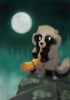 Supi / Raccoon dog / Tanuki  Jonna Markkula