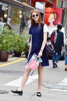 Model Kim Jin Kyung 김진경// ensorcelant   @printedlove Coco Chanel, Asian Style, Korean Style, Kim Jin, Asia Girl, Korean Model, Asian Woman, Korean Fashion, Dresses For Work