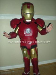Coolest Homemade Ironman Halloween Costume & 29 best Ironman Costume Ideas images on Pinterest | Homemade ...