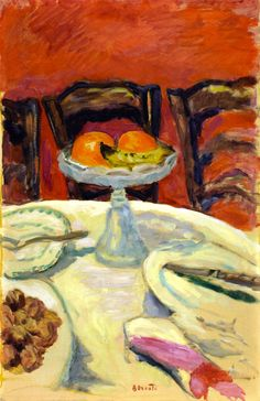 Oranges / Pierre Bonnard - circa 1912