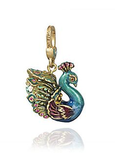 Jay Strongwater - Peacock Charm