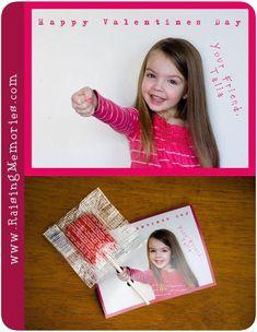 Raising Memories: Valentines - Travel World Valentine's Cards For Kids, Diy Gifts For Kids, Diy For Kids, Gifts For Mom, Crafts For Kids, Mothers Day Crafts, Valentine Day Crafts, Valentine Activities, Photo Saint Valentin