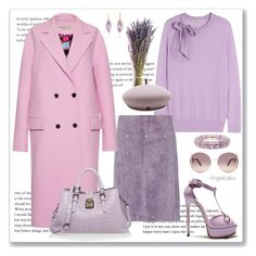 """""""Sweet Sweater"""" by angelicallxx ❤ liked on Polyvore featuring Nina Ricci, Casadei, Bottega Veneta, Emilio Pucci, Chloé, Jorge Adeler, Maison Michel and pastelsweaters"""