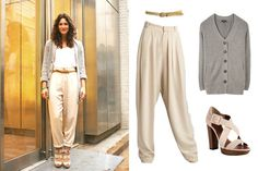 Cute khaki pants outfit