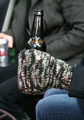 Inspired by a similar Icelandic accessory, meet the Beer Mitt! The perfect accessory for football games, backyard fire pits on chilly autumn evenings, or any other cool-weather beverage-drinking event.