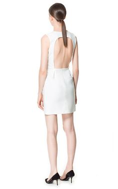 BACKLESS DRESS - Dresses - Woman - ZARA United States