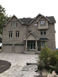 Beach front!!! Custom built home at end of Cul-de-sac ! Room for expansion with 2 lots next door (2.4 acres)! Gourmet kitchen, SS appliances,granite, stone, hardwood. open concept with cathedral ceilings, gas FFP, loads of windows for those spectacular views of the Ottawa Riverr & Gatineau Hills. Maintenance free 50' balcony. Main floor office, double garage, carport, boat access. Just Move-in!