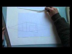 filmpje: Perspectief tekenen. Hoe doe je dat?