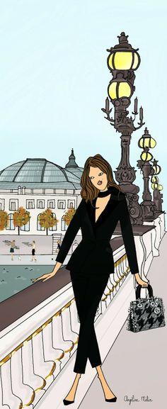 Angéline Mélin  Visit ¨#Paris and book a room @ Mareuil Hotel : www.hotelmareuil.com