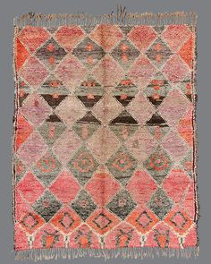 Beni M'Guild . BG28 . Vintage Moroccan Carpets + Wares // Breuckelen Berber