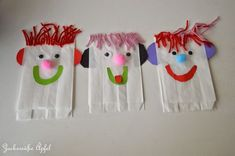 Greaseproof paper hand puppets … (DIY) - Home Page Arts And Crafts For Teens, Art And Craft Videos, Arts And Crafts House, Easy Arts And Crafts, Diy Crafts To Sell, Crafts For Kids, Sewing Dress, Arts And Crafts Interiors, Diy Pinterest