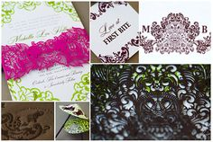 Michelle & Brendan - Luxury Wedding Invitations - Details - Destination - Ceci Couture - Ceci Wedding - Ceci New York
