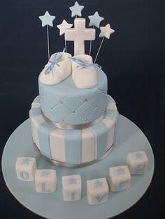 christening cake Baby Christening Gifts, Christening Cakes, Boy Baptism, Baptism Ideas, Baby Cakes, Baby Shower Cakes, Cupcake Cakes, Cupcakes, Birthday Board