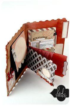My new addiction - Heidi Swapp Memory Files - quick, fun, easy way to scrapbook!!