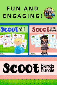 Use this fun scoot game bundle with Blends to help your students practice those tricky sounds and get out some wiggles at the same time. You can use it as an assessment after teaching blends or just as a fun practice tool.  #teachersfollowteachers#teacherspayteachers#phonics#firstgrade#soltrainlearning#activities#blends
