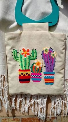 Mexicano Passo a Passo - Artesanato Passo a Passo! Bordado Mexicano Passo a Passo - Artesanato Passo a Passo! New FREE Pattern! Cactus Embroidery, Mexican Embroidery, Hand Embroidery Designs, Diy Embroidery, Cross Stitch Embroidery, Embroidery Patterns, Machine Embroidery, Sewing Crafts, Sewing Projects