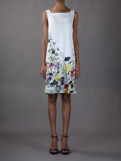 All - Gucci Floral Dress - Tessabit.com – Luxury Fashion For Men and Women: Shipping Worldwide