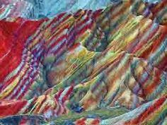 The Most Naturally Colourful Place On Earth, China's Rainbow Mountains - BlazePress Amazing Places On Earth, Beautiful Places, Rainbow Mountains China, Zhangye Danxia, Grand Canyon, Scenery Photography, Photography Tips, Destinations, Amazing Nature