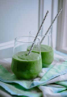 Greenie - en grøn smoothie