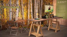 """Ejemplo de decoración de un stand de feria realizado por """"Decoración de Stands"""". http://decoraciondestands.com"""