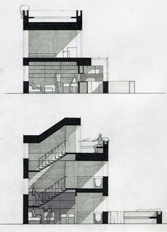 Architectural sketches & projects during study years on Behance