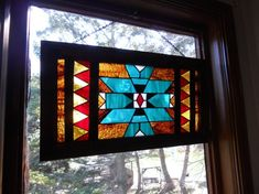 navajo stained glass design - Google Search