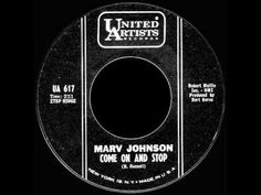 Marv Johnson  - Come On And Stop Me -  UNITED ARTISTS  617 - YouTube