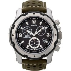 Mens Timex Indiglo Expedition Rugged Field Chronograph Watch T49626