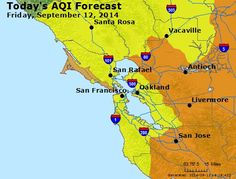 Check air quality for good days for outdoor activity