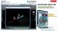 AutoCAD 2017 3D Novedades | Curso | Tutorial en Español: Leccion 7