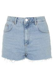 MOTO Authentic Bleached Mom Shorts