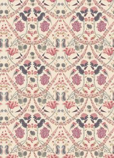 Design Name: Amelie  Ref: D0368  Colourway: 003 Traditional  Colourway Options:  001 Pastel | 002 Chintz