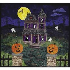 Halloween quilt- I wanna be this good someday!