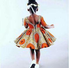 African Fashion Is Hot Ankara Styles For Kids, African Dresses For Kids, African Children, African Print Dresses, African Fashion Dresses, African Women, Girls Dresses, African Inspired Fashion, African Print Fashion