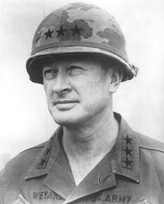 Frederick Carlton Weyand (1916 – 2010) was the U.S. Army General who was the last commander of US military operations in the Vietnam War from 1972 to 1973, and served as the 28th US Army Chief of Staff from 1974 to 1976. Weyand was a veteran of both WW2 and Korea.