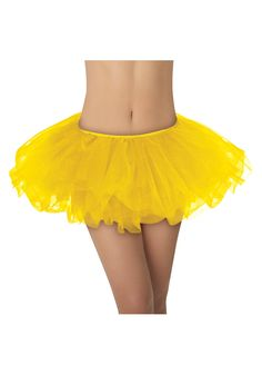 yellow costumes | of a lifetime! This Yellow Tutu will jazz up any short costume ...