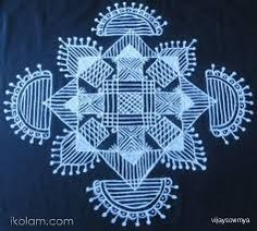 simple kolam designs - Google Search