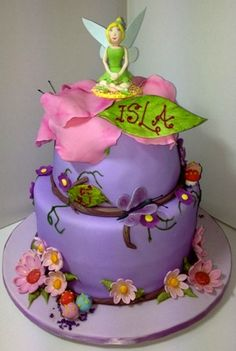 ~ Tinkerbell 5th Birthday Cake ~
