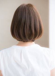 大人愛され系ナチュラルフェミニンボブ(髪型ボブ) Aoyama, Short Hair Styles, Hair Beauty, Hairdos, Bob Styles, Short Hair Cuts, Short Hairstyles, Short Hair Dos