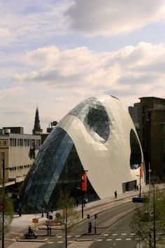 Admirant e 18 September Plein - Massimiliano & Doriana Fuksas. Architects: Massimiliano & Doriana Fuksas; Location: Eindhoven, The Netherlands