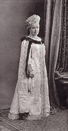 The maid of honor ih Imperatorskih Velichestv Empress Imperatrits Countess Elizabeth Mikhailovna Nirod ( XVII Boyaryshnya vѣka ) image 074 by klimbims on deviantART