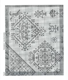 Gallery.ru / Фото #7 - Renaissance - Vlada65 Cross Stitch Samplers, Cross Stitch Patterns, Renaissance, Needle Book, Blackwork, Lana, Chart, Embroidery, Quilts