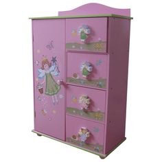 Liberty House Toys Fairy Storage Drawers Chest