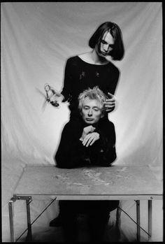 Thom Yorke & Jonny Greenwood - #Radiohead - By Patrick Pope, 1994