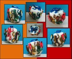 Congreso de 8 ranas, hecho en tagua- Disponible en Weil Art
