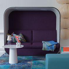 Turquoise carpet. Interior architecture | Ramsoskar
