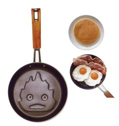 Amazon.com | Ghibli Howl's Moving Castle Calcifer Kitchen Tool Pancake pan: Home & Kitchen, Kitchen & Dining, Cookware, Specialty Cookware, Crepe Pans